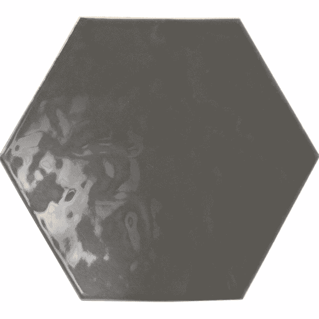 Smoke Grey Hexagon Tiles
