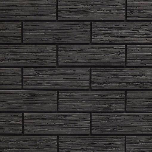 Solid Black Brick Slips