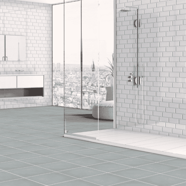 square-grey-anti-slip-floor-tile
