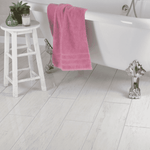 Stately White Oak Polished Wood Effect Tiles