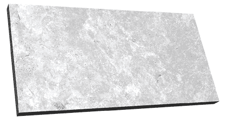 Taggart Large Silver Travertine Effect 20mm Exterior Tiles