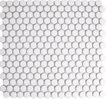 Tala White Circle Mosaic Tiles