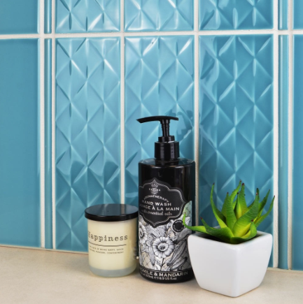 Teal Diamond Metro Tiles