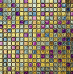 Twinkle Glitter Gold Mosaic Tiles