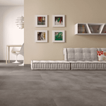 Visual Grey 60 x 60 Concrete Effect Tiles