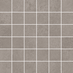 Visual Grey Concrete Effect Mosaic Tile