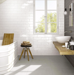 White Soft Matt Metro Tiles