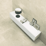 Xavier Polished Cream 59 x 59 Marble Effect Tiles