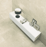 Xavier Polished Cream 75 x 37 Marble Effect Tiles