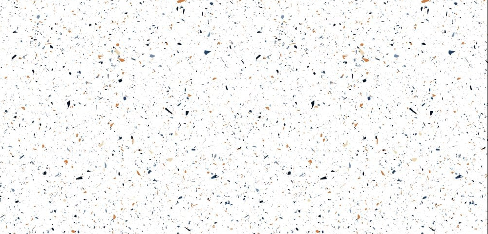 XL Polished Colourful Terrazzo Effect Tiles