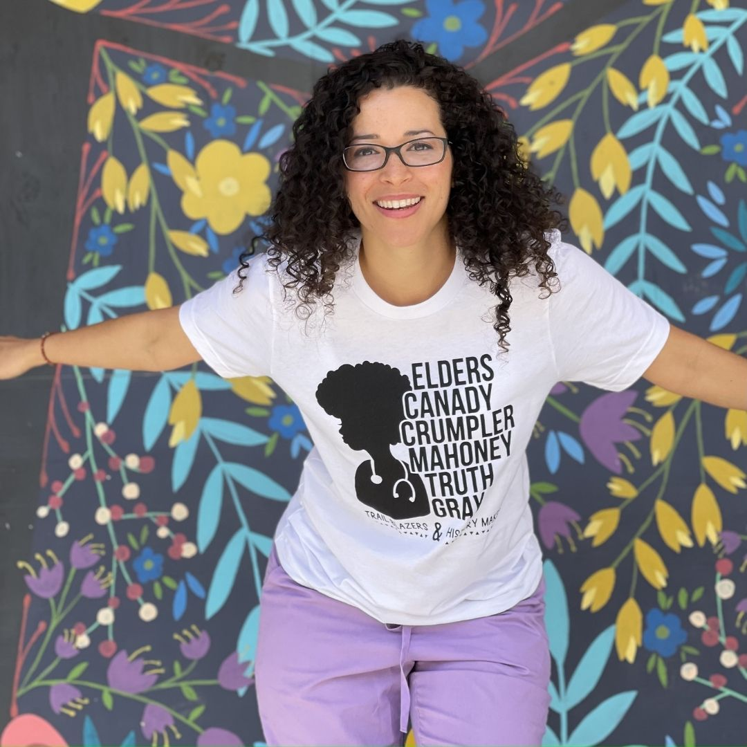 Supporting Black Women in Medicine Tee