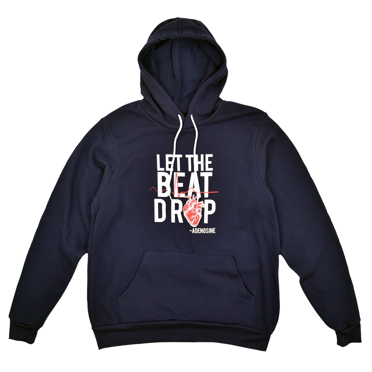 Let the Beat Drop Adenosine Hoodie - FINAL SALE