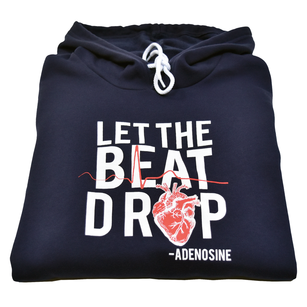 Let the Beat Drop Adenosine Hoodie