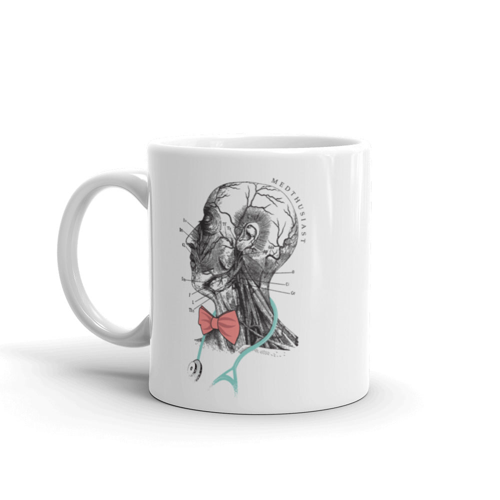 Head and Neck Anatomy Mug