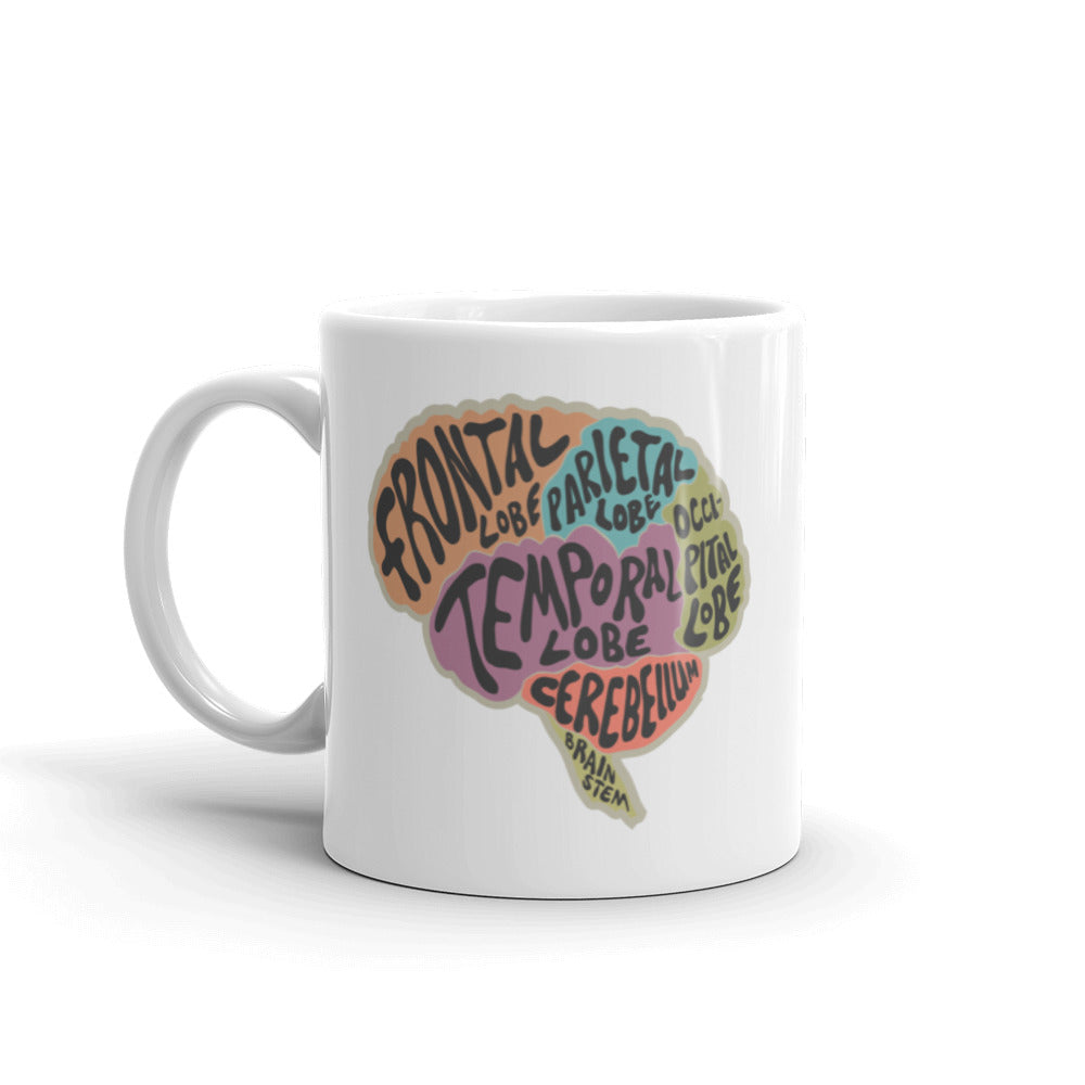Brain Anatomy Mug