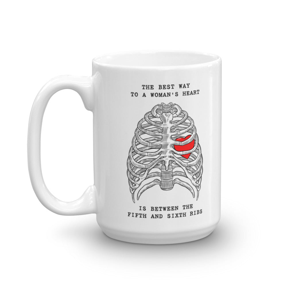 Best Way To A Womans Heart Mug  Medthusiast-6941