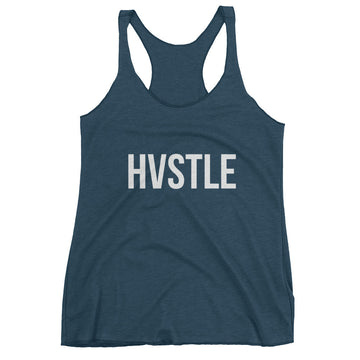 Hvstle Women's Tank Top - Indigo