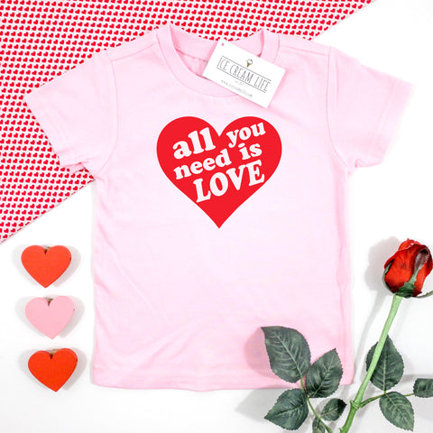 ALL YOU NEED IS LOVE - KIDS TEE