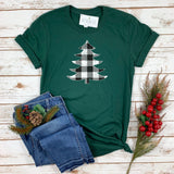 BUFFALO PLAID CHRISTMAS TREE - GREEN SHIRT - Ice Cream Life