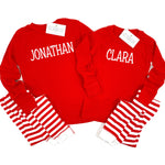 CHRISTMAS PAJAMAS WITH NAME