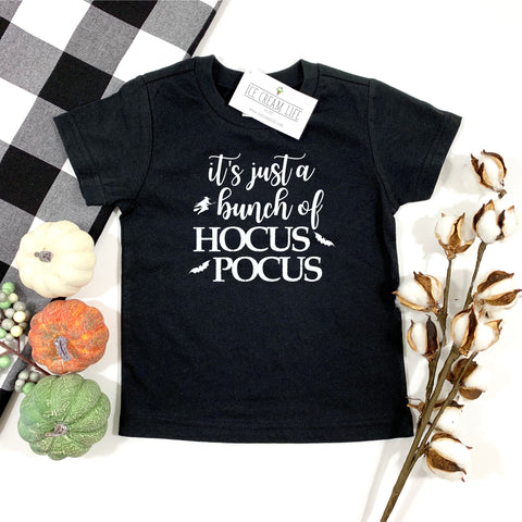 HOCUS POCUS KIDS SHIRT - BLACK - Ice Cream Life