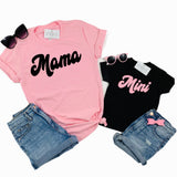 MAMA AND MINI RETRO - SET OF 2 SHIRTS