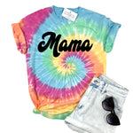 MAMA AND MINI RAINBOW TIE DYE - SET OF 2 SHIRTS