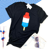 BOMB POP ADULT SHIRT - BLACK - Ice Cream Life