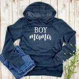 BOY MAMA WOMENS HOODIE SWEATSHIRT - Ice Cream Life