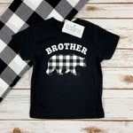 BROTHER BEAR BUFFALO PLAID KIDS SHIRT
