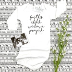 FOR THIS CHILD WE HAVE PRAYED - BABY ONESIE BABY GOWN