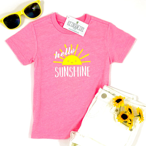 HELLO SUNSHINE KID SHIRT - Ice Cream Life