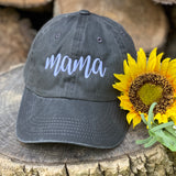 MAMA VINTAGE WASHED LADIES CAP - Ice Cream Life
