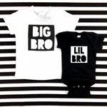BIG BRO SHIRT • BLACK AND WHITE - Ice Cream Life