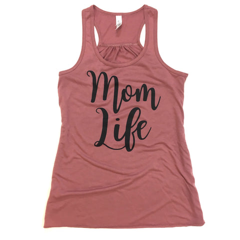 MOM LIFE TANK TOP • MAUVE - Ice Cream Life