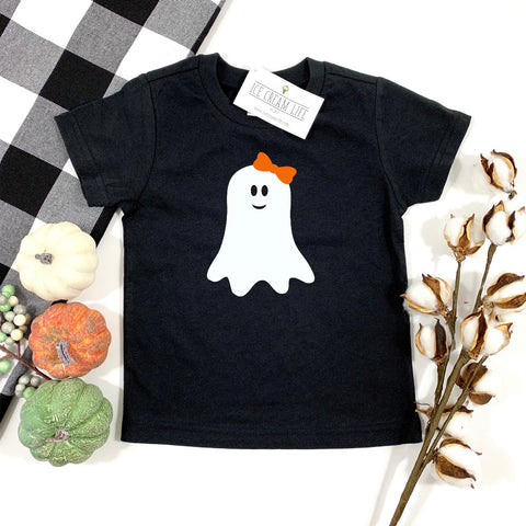GHOST SHIRT FOR HALLOWEEN - GIRLS TEE