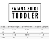 PERSONALIZED PAJAMA SET (BABY, TODDLER, YOUTH) **PREORDER ENDS 12/9** - Ice Cream Life