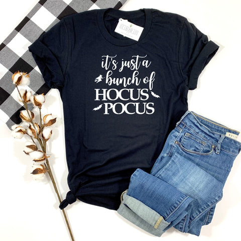 HOCUS POCUS BLACK SHIRT - ADULT