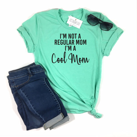 COOL MOM SHIRT • MINT