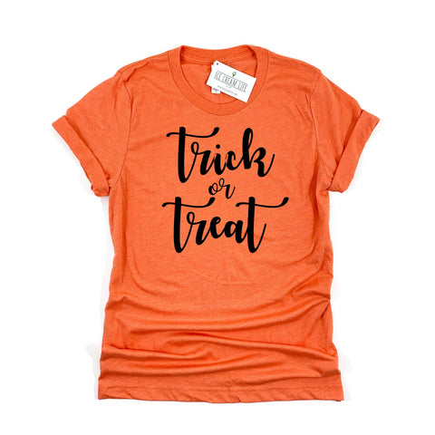 TRICK OR TREAT ADULT SHIRT - Ice Cream Life