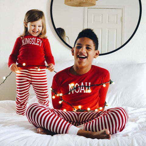 PERSONALIZED CHRISTMAS (BABY SIZES HERE) **PREORDER ENDS 12/9**