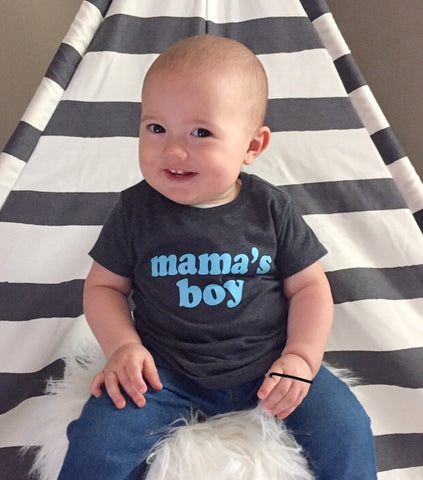 MAMA'S BOY SHIRT - Ice Cream Life