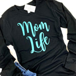 MOM LIFE LONG SLEEVE SHIRT - Ice Cream Life
