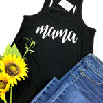 MAMA BLACK TANK TOP - Ice Cream Life