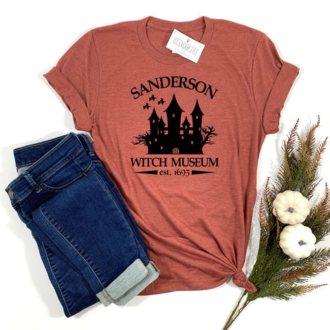 SANDERSON WITCH MUSEUM ADULT SHIRT - Ice Cream Life