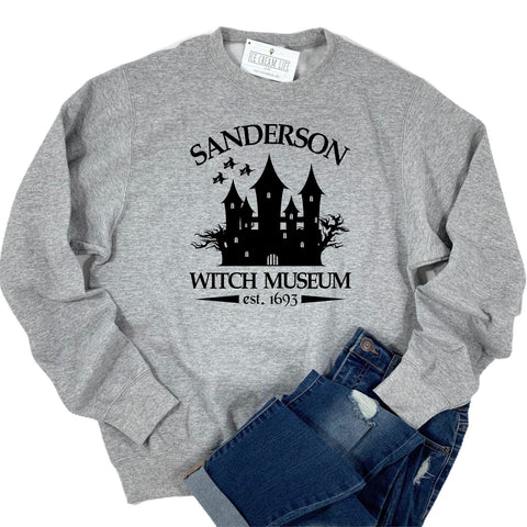 SANDERSON WITCH MUSEUM ADULT SWEATSHIRT - Ice Cream Life