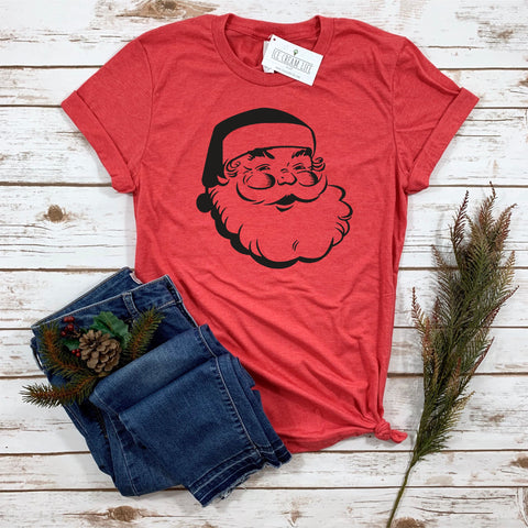 JOLLY SANTA ADULT SHIRT - Ice Cream Life