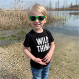WILD THING SHIRT - BLACK - Ice Cream Life