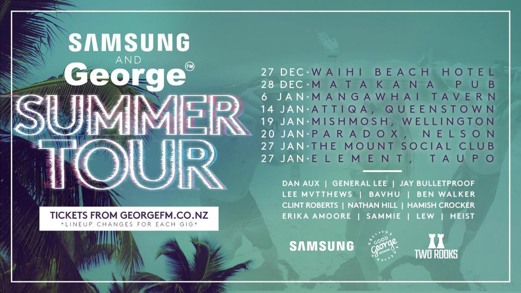 TWO ROOKS COLA x GEORGE FM SUMMER TOUR