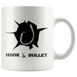 Hook and Bullet Coffee Mug 11 oz